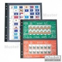 Schaubek blanko like - stock sheet pages - choice of styles and colours