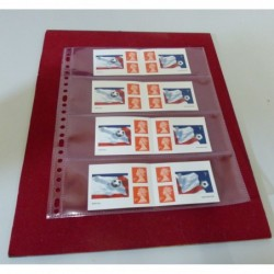 Adaptable Stamp  booklet leaves x 5