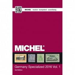Michel Germany upto 1945 Specialised English language 2015 volume 1