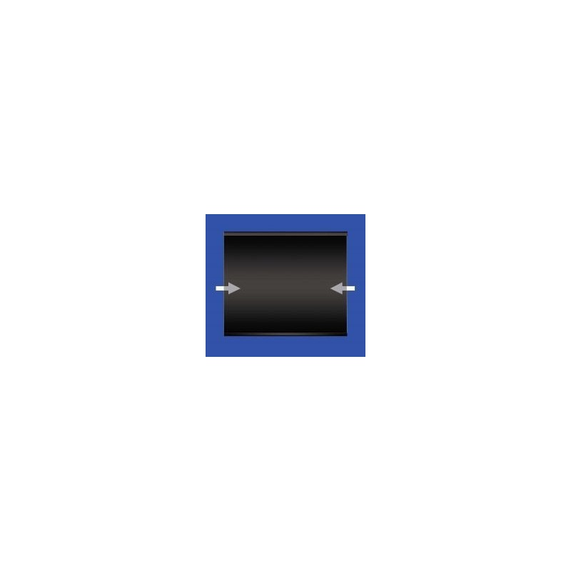 130x85mm stamp mount Standard black back blocks 10 per pack
