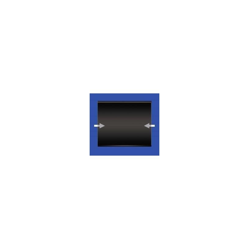160x120mm stamp mount Standard black back blocks 10 per pack