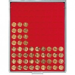 Lindner Coin Box 99 x 20mm round compartments