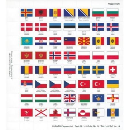 Lindner Karat Coin Album Euro flags