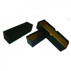 Black Card Box for coins
