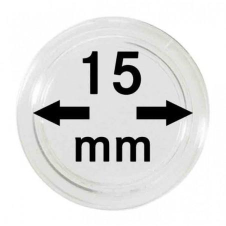Lindner Coin Capsules 15mm internal