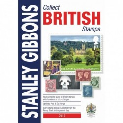 GREAT BRITAIN - Stanley Gibbons Collect British Stamps 2017 ed