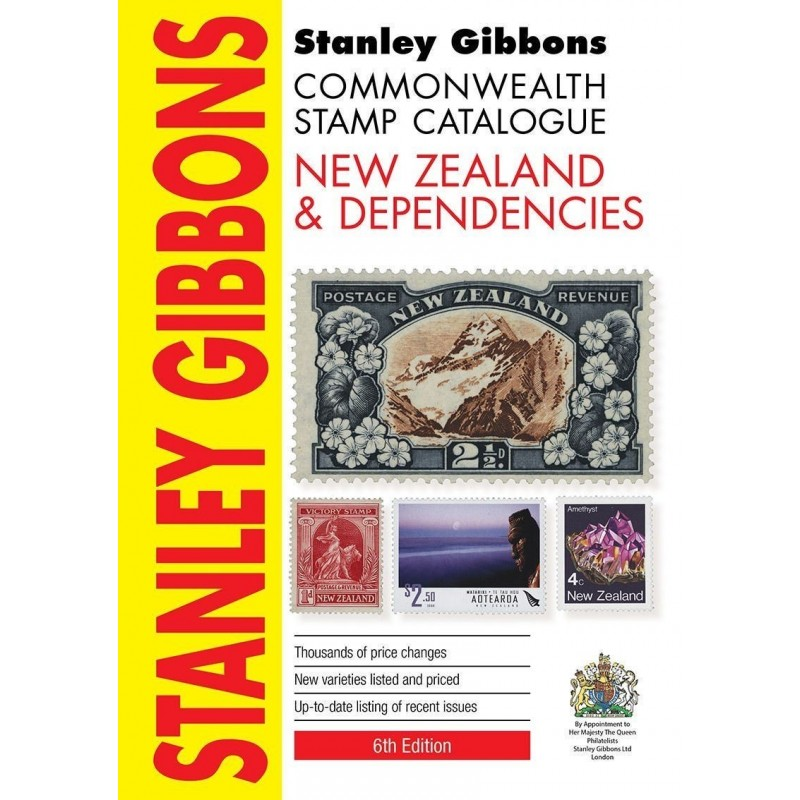 NEW ZEALAND & DEPENDENCIES - Stanley Gibbons Commonwealth 6th Edition