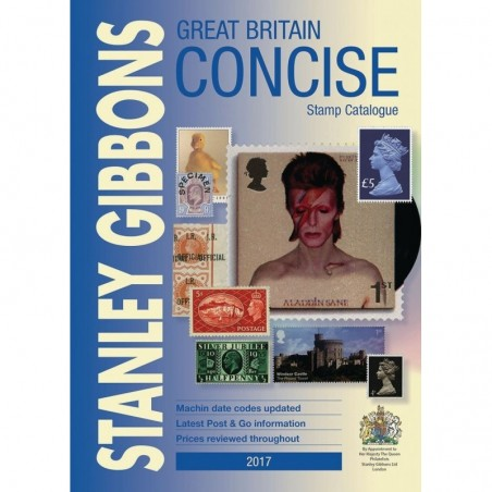 GREAT BRITAIN - Stanley Gibbons Concise Stamp Catalogue 2017 ed