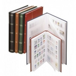 Lindner Standard white page stockbooks - choice of sizes