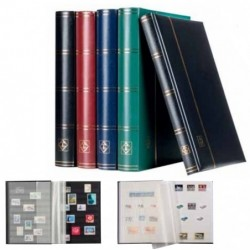 Lighthouse Comfort black page stockbooks - choice of sizes