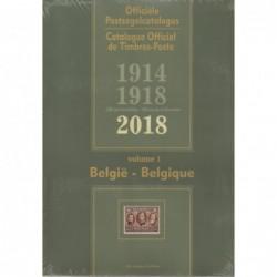 BELGIUM & Colonies- Officiel des Timbres-Poste 2018 - 2 volumes