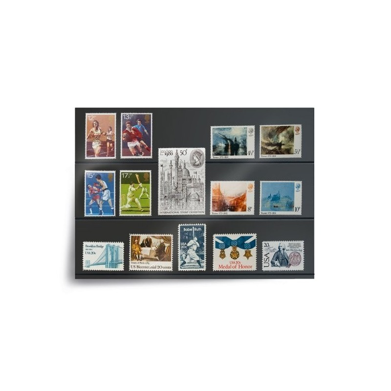 Prinz System Stockcards - in various sizes and formats - black