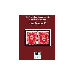 AUSTRALIAN COMMONWEALTH - Brusden & White King George VI