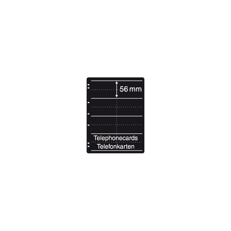 Prinz System Booklet sheets - 4 strip pack of 5