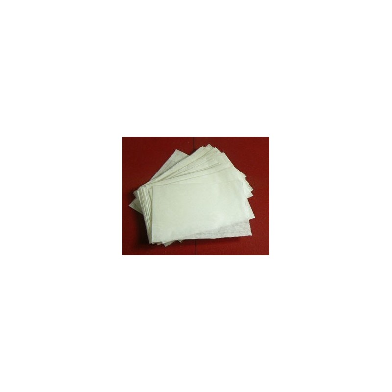 Clear faced film front white paper bags - choice of sizes