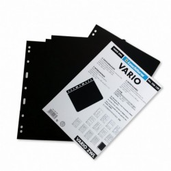 Lighthouse Vario pages black divider pages - pack of 5