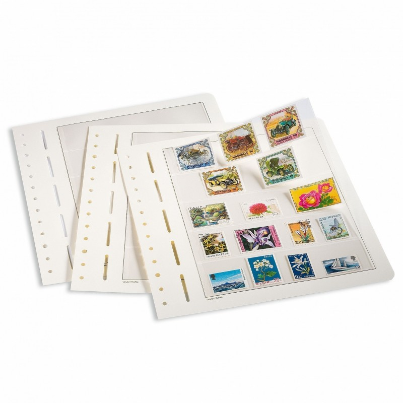 Lighthouse LB4 MIX sheets 4 assorted pocket page - per single page