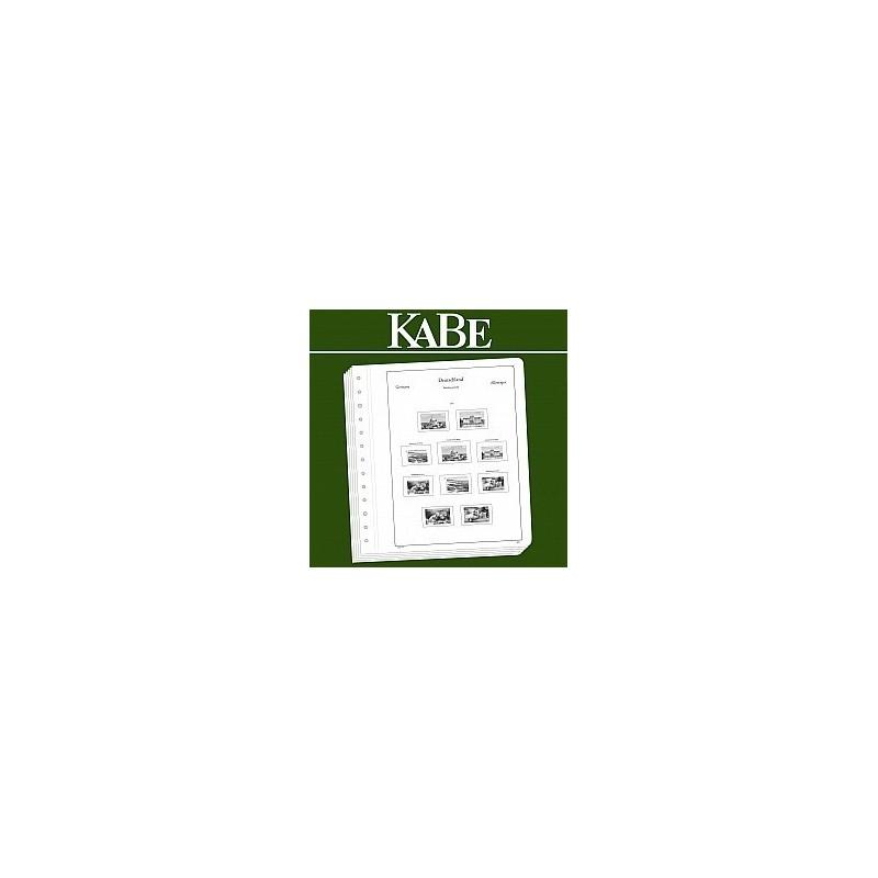 KABE 2017 album supplement LUXURY OFN11K/17 Switzerland Mini Sheets