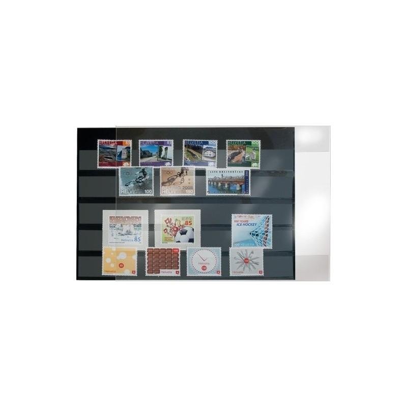 Prinz PVC Stockcards 210mmx 148mm - black backed