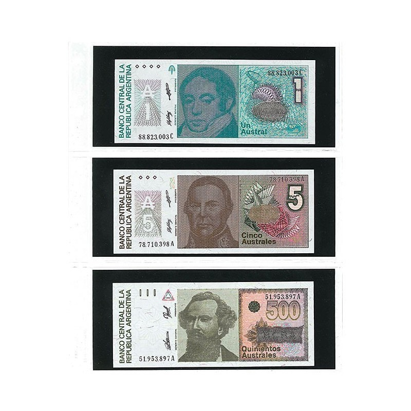 Lindner Multi Collect Clear Stock pages - for banknotes pack of 10