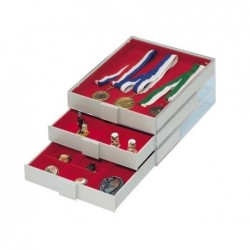 Collection Box from Lindner - extra deep storage
