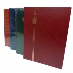 Compass budget black page stockbooks - choice of sizes