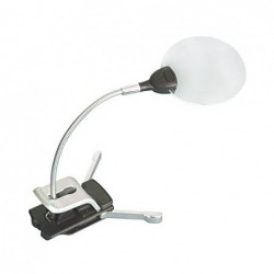 Rimless Standing Clamp Magnifier - Lidner ref. 7154