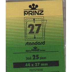 44x27mm Standard Black...