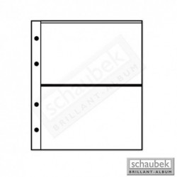 Schaubek Genius coin pages - pack of 5 pages choice of styles