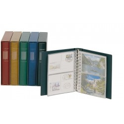 Lindner Classic Postcard album - 13 ring - optional slipcase available