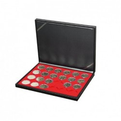 Lindner Nera coin case M - single tier choice of inserts