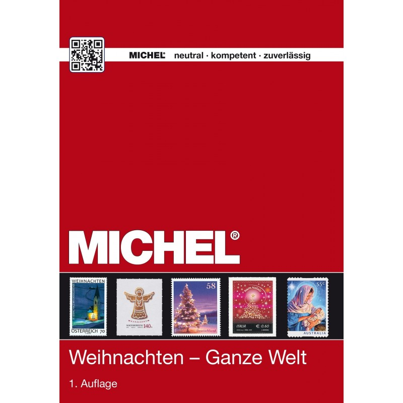 Michel Thematic catalogue - Christmas whole world 2015