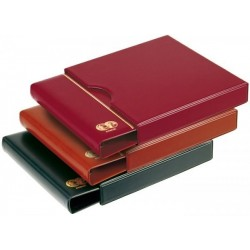 Prinz 2090 4 ring coin binder - plus optional slipcase