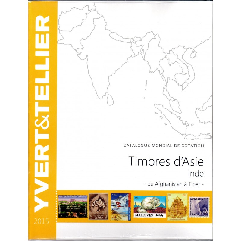 ASIA - India - Yvert et Tellier 2015