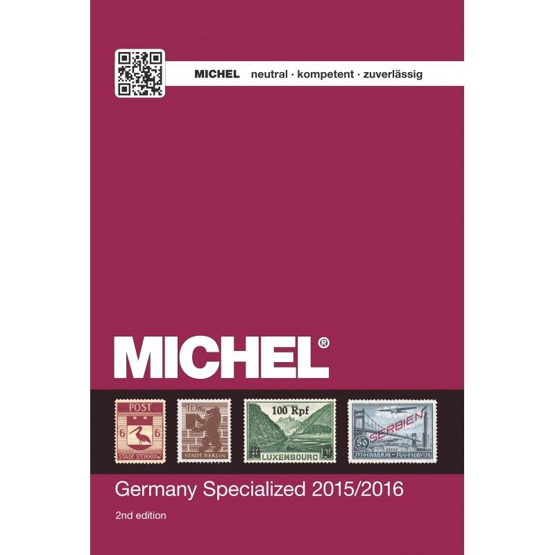 Michel Germany upto 1945 Specialised English language 2015 volume 2