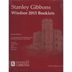 Stanley Gibbons Windsor booklet 2015 supplement - Great Britain