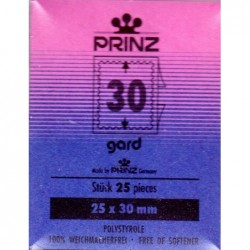 Cut to size Gard Black backed stamp mounts x 25