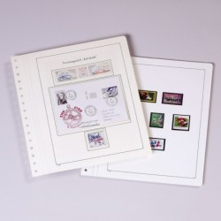 KABE Blank album pages - lighter weight paper - per 10