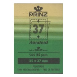 35x37mm Cut to size Standard Black backed stamp mounts x 25