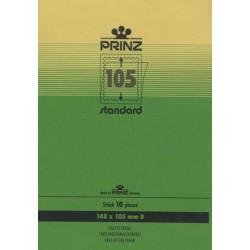 148mm x 105mm stamp mount blocks Standard Clear backed per 10