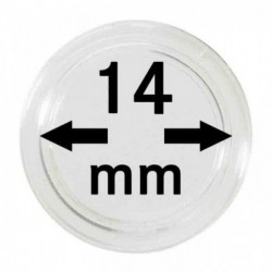Lindner Coin Capsules 14mm internal