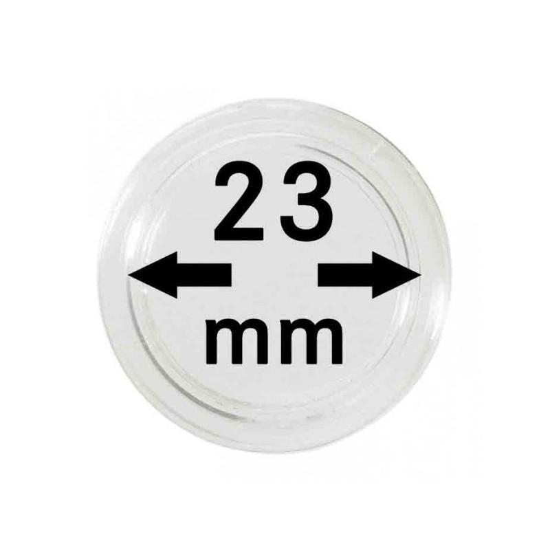 Lindner Coin Capsules 23mm internal