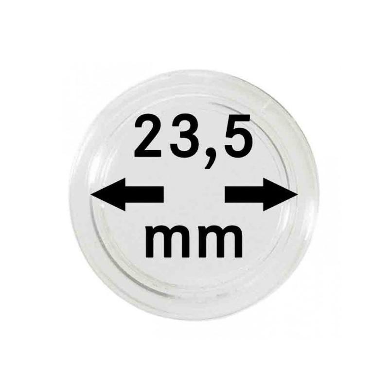 Lindner Coin Capsules 23.5mm internal