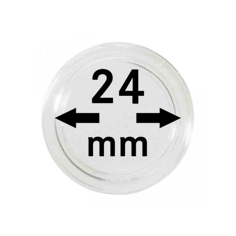 Lindner Coin Capsules 24mm internal