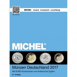 Michel Coins of Germany 2017 plus Euro coins