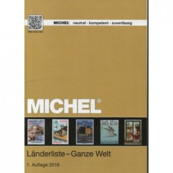 Michel Country list booklet