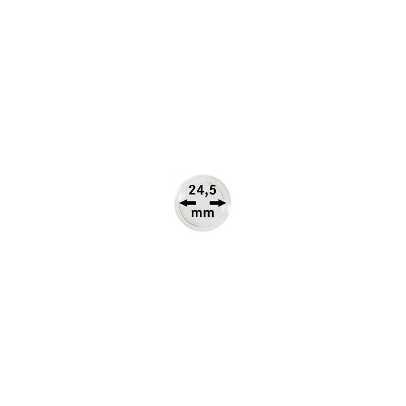 Lindner Coin Capsules 24.5mm internal