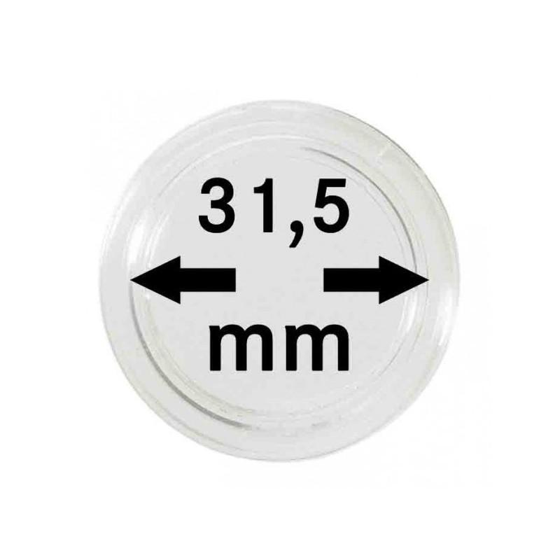 Lindner Coin Capsules 31.5mm internal