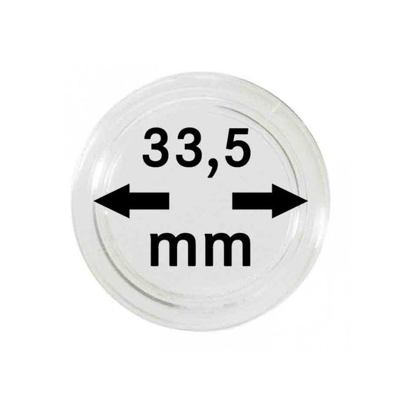 Lindner Coin Capsules 33.5mm internal