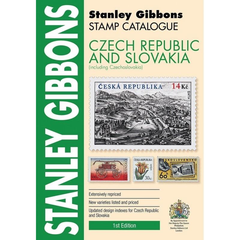Czech Republic & Slovakia Stamp Catalogue 2017 ed